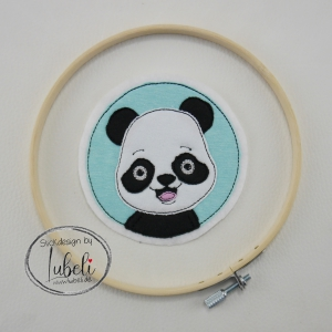 Stickdatei-Panda-Button